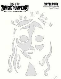 Nightmare Before Christmas Pumpkin Stencils The Corpse Bride Pumpkin Carving Wow Holidays Pinterest