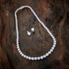 fashion jewelry silver necklace images Buy pure silver necklaces for women online kushal 39 s fashion jewellery png