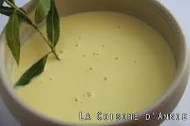 vervenne cuisine recette crème anglaise à la verveine la cuisine familiale un
