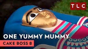 mummy cakes halloween one yummy mummy cake boss s8e22 youtube