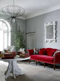 Gray Sofa Decor Sofa Delightful Red Sofa Combination Decor Light And Space Red