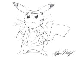 cool pikachu drawing by natmaxex on deviantart