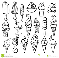 free coloring pages of icecream glass coloring page ice cream