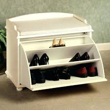 shoe rack bench white hallway storage bench shoe cabinet white