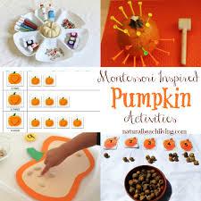 perfect fall montessori pumpkin activities natural beach living