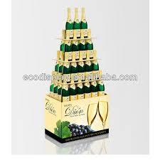 corrugated point of sale wine bottle display rack buy pos liquor