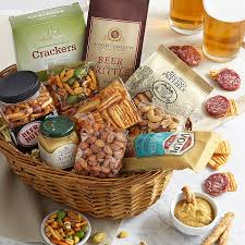 cheese baskets meats cheese and snack gift baskets
