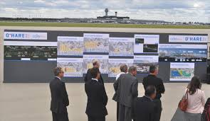 O Hare Map Terminal Planned O U0027hare Terminal Revamp Would Decrease Delays Meet Surging