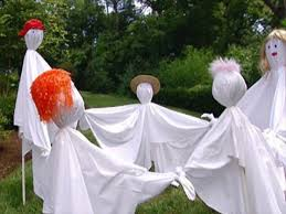 Halloween Outdoor Decorations Ghosts by Ghost Decorations For Halloween Indoor Halloween Decorations