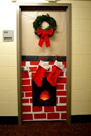 Dorm Decorations Pinterest by Christmas Decorated Dorm Door Dorm Ideas Pinterest Decorate
