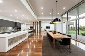 cuisine aire ouverte cuisine et salon aire ouverte 4 d233co noir et blanc salle 224
