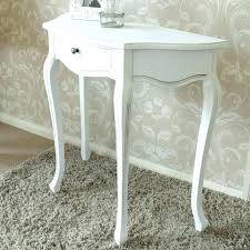 half moon console table with drawer small half moon console table excellent half moon glass console