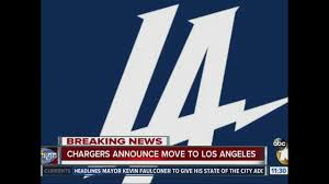 San Diego Chargers Flag It U0027s Official Chargers Moving To Los Angeles 10news Com Kgtv Tv