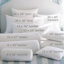 bedding throw pillows decorative pillow sizes