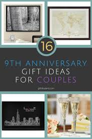 9th anniversary gift 16 9th wedding anniversary gift ideas for couples