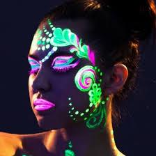 glow paint uv neon paint set