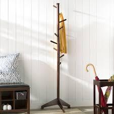 freestanding wood coat stand u0026 reviews birch lane