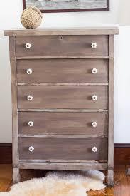 driftwood dresser before u0026 after finding silver pennies