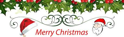 merry christmas banner merry christmas santa flower banner image images photos pictures