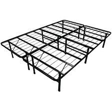 folding queen bed frame queen size steel folding metal platform