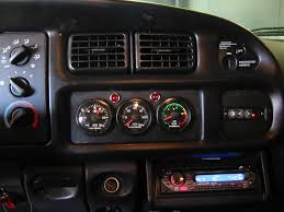 Dodge Ram Cummins Accessories - gauge mounting ideas dodge diesel diesel truck resource forums
