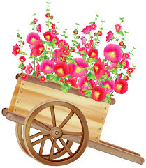 wheelbarrow with flowers png clipart best web clipart
