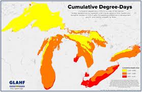 The Great Lakes Map Maps Great Lakes Aquatic Habitat Framework