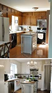 Before And After  Budget Friendly Kitchen Makeover Ideas Hative - Simple kitchen makeover