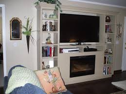 Modern Wall Mounted Entertainment Center Wall Unit Entertainment Center With Electric Fireplace Decorating