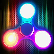 wind spinners with led lights amazon com fidget spinner led light 4inloveme fidget wind