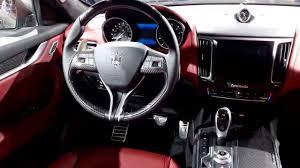maserati interior 2017 2017 maserati levante interior walkaround 2016 new york auto show