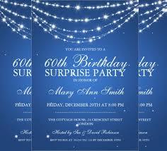 26 surprise birthday invitation templates u2013 free sample example