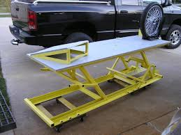 scissor lift table plans diy woodworking plans