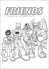 175 free printable superhero coloring pages teen titans