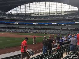 Miller Park Seating Map Miller Park Section 126 Rateyourseats Com