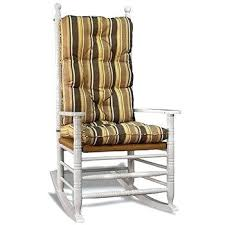 Rocking Chair Cushion Nursery Rocking Chair Cushion Sets Striped Fabrics Rocking Chair Cushion