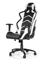 desk chair gaming akracing player gaming chair white