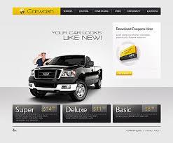sixthlife 21 car wash website templates