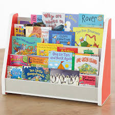 siena tiered bookcase red trim fu07004 buy at primary ict for