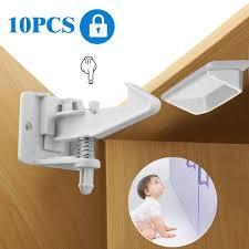 kitchen cupboard door child locks eeekit 10 pack baby proofing child safety kitchen cabinet locks latches baby child proof drawer cabinet locks cupboard latch