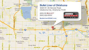 okc zip code map get directions to bullet liner of oklahoma city