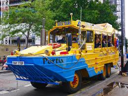amphibious vehicle duck london duck tours an amphibious adventure the curious pixie