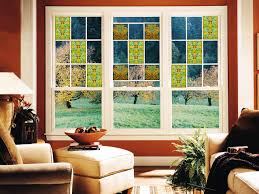 interior stained glass window clings home depot window film