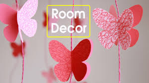 how to make room decorations diy butterflies wall room decor make paper butterflies easy