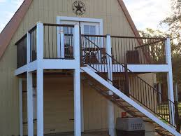 Decking Kits With Handrails Deck Stair Stringers By Fast Stairs Com