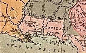 louisiana florida map munson underwood horn fairfield and allied families st