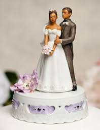 biracial wedding cake toppers floral cake toppers justcaketoppers