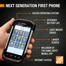 the home depot next generation first phone hits home depot aisles