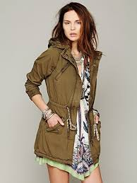 Free People Parka Scotch Green Parka At Free People Clothing Boutique