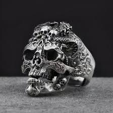 imagenes de calaveras hombres anillo calavera anillos en mercado libre méxico